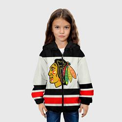 Куртка с капюшоном детская Chicago Blackhawks цвета 3D-черный — фото 2