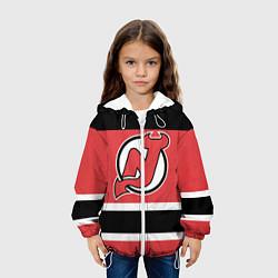 Куртка с капюшоном детская New Jersey Devils цвета 3D-белый — фото 2