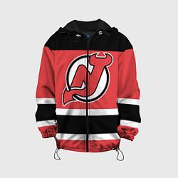Куртка с капюшоном детская New Jersey Devils цвета 3D-черный — фото 1