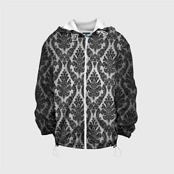 Куртка с капюшоном детская Гламурный узор цвета 3D-белый — фото 1