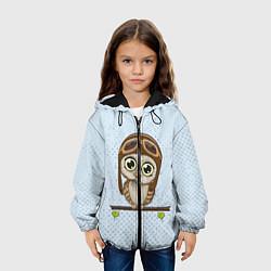 Куртка 3D с капюшоном для ребенка Сова пилот - фото 2