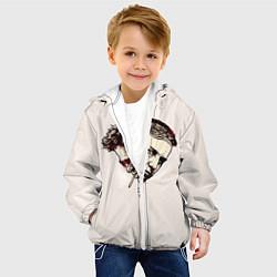 Детская 3D-куртка с капюшоном с принтом Fight Club: Friends, цвет: 3D-белый, артикул: 10090247905458 — фото 2