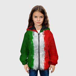 Куртка с капюшоном детская Italian цвета 3D-черный — фото 2