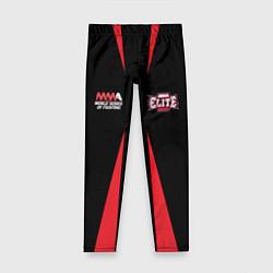 Леггинсы для девочки MMA Elite цвета 3D — фото 1