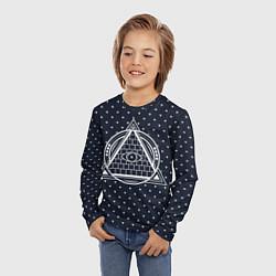 Лонгслив детский Illuminati цвета 3D — фото 2