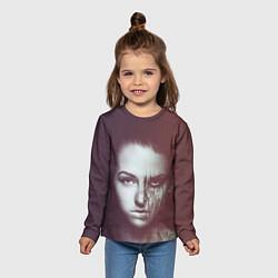 Лонгслив детский Chelsea Grin: Death Girl цвета 3D-принт — фото 2