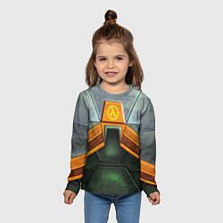 Лонгслив детский Gordon Freeman: Costume цвета 3D-принт — фото 2