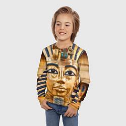 Лонгслив детский Фараон цвета 3D — фото 2