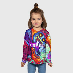 Лонгслив детский CS:GO цвета 3D-принт — фото 2