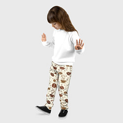 Брюки детские Coffe цвета 3D — фото 2