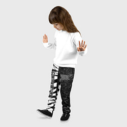 Брюки детские PUBG: Zebras Lifestyle цвета 3D — фото 2