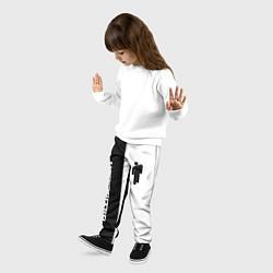 Брюки детские BILLIE EILISH цвета 3D-принт — фото 2