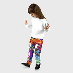 Брюки детские CS GO HYPERBEAST цвета 3D — фото 2