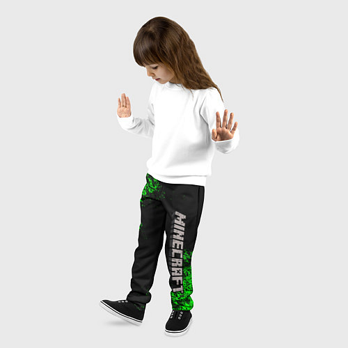 Детские брюки MINECRAFT / 3D-принт – фото 3