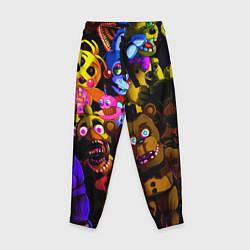 Брюки детские Five Nights At Freddy's цвета 3D — фото 1