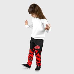 Брюки детские AKATSUKI цвета 3D — фото 2