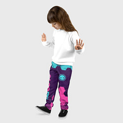 Брюки детские FALL GUYS ФОЛ ГАЙС цвета 3D — фото 2
