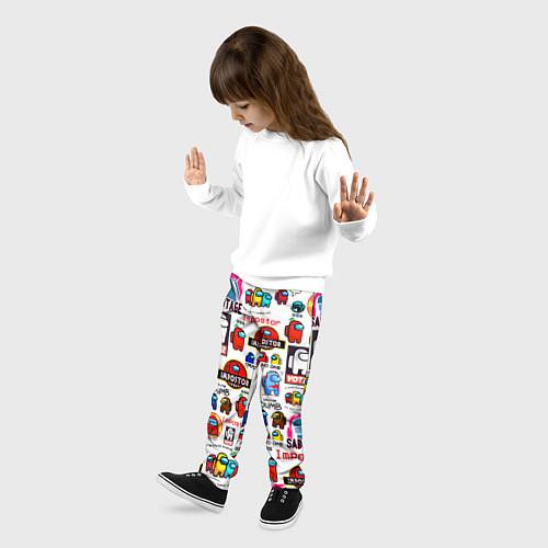 Детские брюки AMONG US / 3D – фото 3