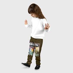 Брюки детские Travis scott sicko mode цвета 3D-принт — фото 2