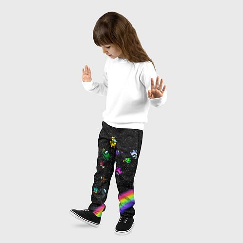 Детские брюки Among Us / 3D-принт – фото 3