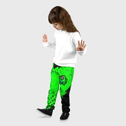 Брюки детские AMONG US - BRAWL STARS LEON цвета 3D — фото 2