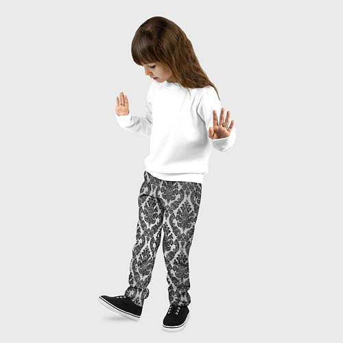 Детские брюки Гламурный узор / 3D – фото 3