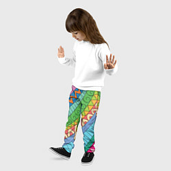 Брюки детские Рамадан цвета 3D — фото 2