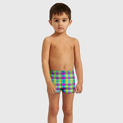 Плавки для мальчика Тестовый яркий цвета 3D — фото 2