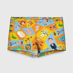 Плавки для мальчика Toy Story цвета 3D — фото 1