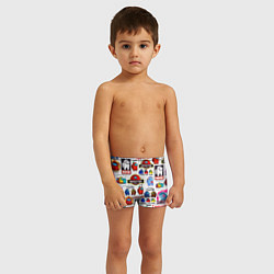 Плавки для мальчика AMONG US цвета 3D — фото 2