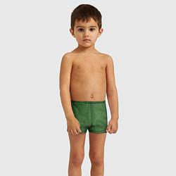 Плавки для мальчика Змеиная зеленая кожа цвета 3D — фото 2