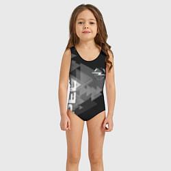Купальник для девочки OPEL цвета 3D — фото 2