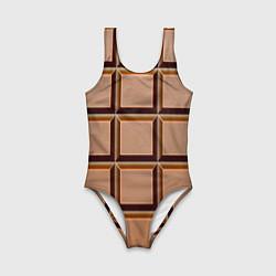 Детский купальник Шоколад