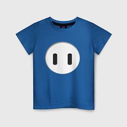 Футболка хлопковая детская Fall Guys цвета синий — фото 1