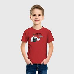Футболка хлопковая детская Кажется, это Ваше цвета красный — фото 2