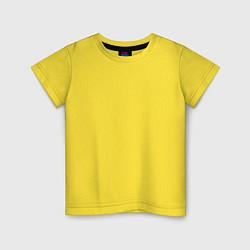 Футболка хлопковая детская Москва EVLTN цвета желтый — фото 1