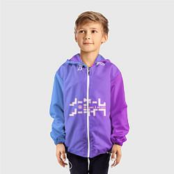 Ветровка с капюшоном детская No Game No Life цвета 3D-белый — фото 2
