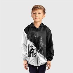 Ветровка с капюшоном детская The Last of Us: White & Black цвета 3D-черный — фото 2