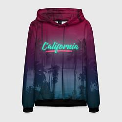 Толстовка-худи мужская California цвета 3D-черный — фото 1