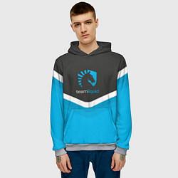 Толстовка-худи мужская Team Liquid Uniform цвета 3D-меланж — фото 2