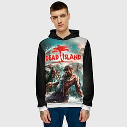 Толстовка-худи мужская Dead Island цвета 3D-белый — фото 2