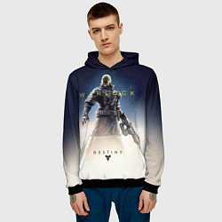 Толстовка-худи мужская Destiny: Warlock цвета 3D-черный — фото 2