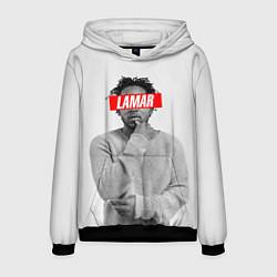 Толстовка-худи мужская Lamar Supreme цвета 3D-черный — фото 1