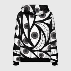 Толстовка-худи мужская Alchemist Eyes цвета 3D-черный — фото 1