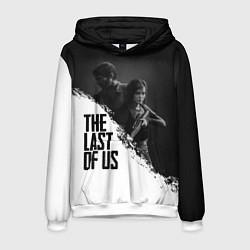 Толстовка-худи мужская The Last of Us: White & Black цвета 3D-белый — фото 1