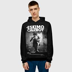 Толстовка-худи мужская Eskimo Callboy цвета 3D-черный — фото 2