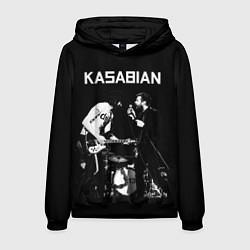 Толстовка-худи мужская Kasabian Rock цвета 3D-черный — фото 1