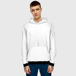 Толстовка-худи мужская Rammstein цвета 3D-черный — фото 2