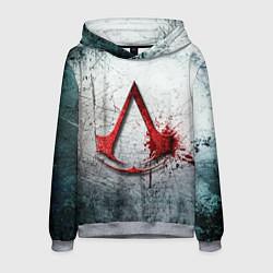 Толстовка-худи мужская Assassins Creed цвета 3D-меланж — фото 1