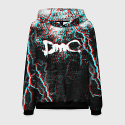 Толстовка-худи мужская DEVIL MAY CRY DMC цвета 3D-черный — фото 1
